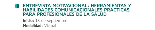 Entrevista motivacional: herramientas y habilidades comunicacionales prácticas para profesionales de la salud