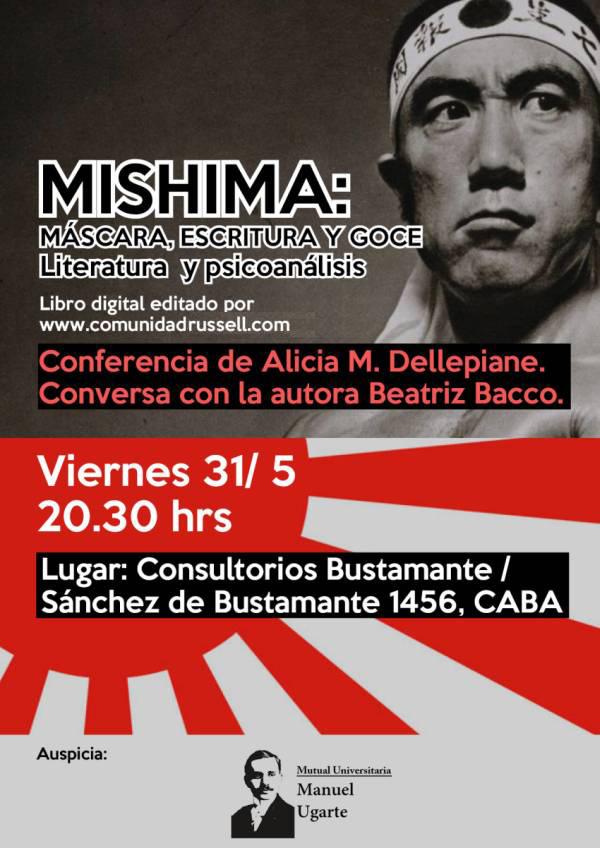 Afiche Conferencia de Alicia M. Dellepiane.